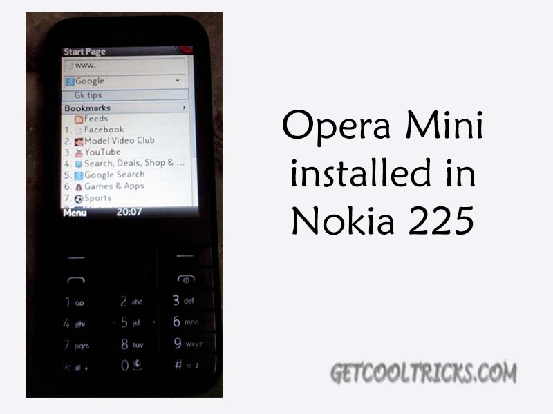 Nokia 220 and 225 Apps download page - Get Cool Tricks